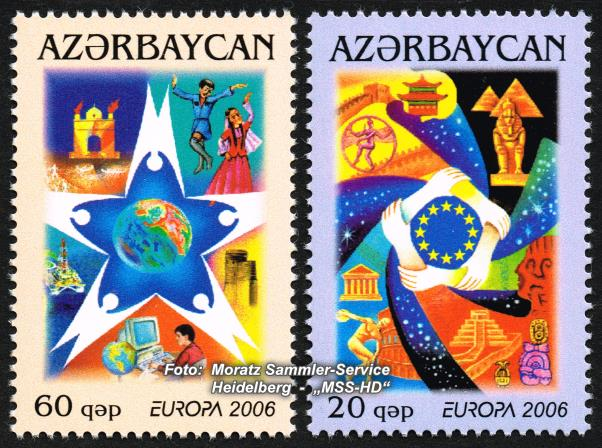 Stamp Issue Azerbaijan: Europe CEPT 2006