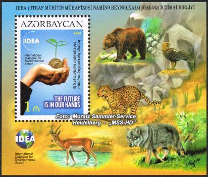 Stamp issue Azerbaijan: IDEA 2014