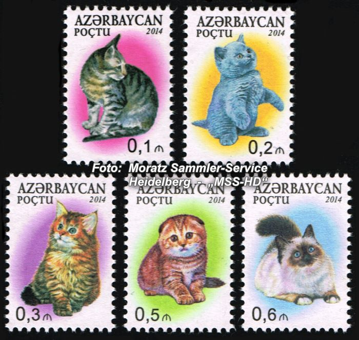 Stamp issue Azerbaijan: Definitve Stamps Cats 2014