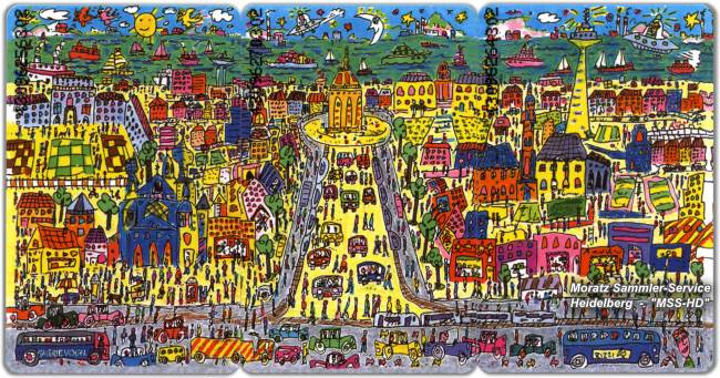 James Rizzi - Mannheim Edition - Phone Card Puzzle