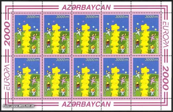 Briefmarken-Ausgabe Aserbaidschan: Europe CEPT 2000