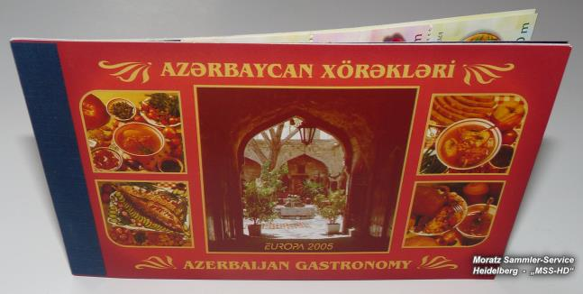 Stamp Issue Azerbaijan: Europe CEPT Companionship 2005 - Gastronomy