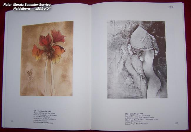Page from the book Bruno Bruni - Color Lithographs 1976-1988 - ISBN 978-3-921785-44-7