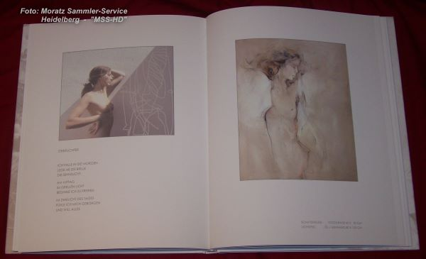 Page from Juergen Goerg - book LIGHT IMAGES (Lichtbilder)