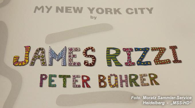 James Rizzi Buch: My New York City, ISBN 978-3-8297-0638-4