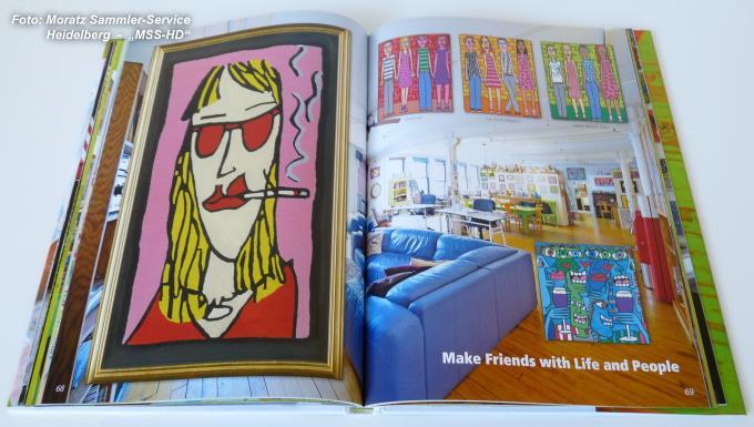 James Rizzi: Buch zur Ausstellung 'Das New Yorker Atelier'