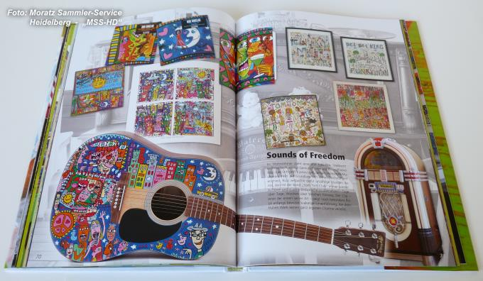 James Rizzi - book of the exhibition 'The New York studio' ('Das New Yorker Atelier')