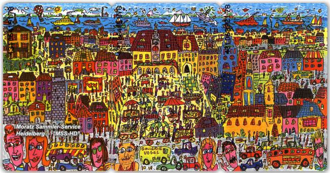James Rizzi - Heilbronn Edition - Phone Card Puzzle