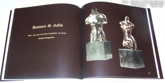 "Page from the book Maximilian Delius ""Bronze Sculptures"""