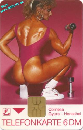 First German bodybuilding calling card