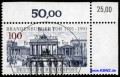 KBWZ Germany 1492, Brandenburg Gate, Special Cancellation BONN
