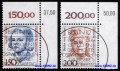 KBWZ Germany 1497-98, Women 150+200, Special Cancellation BERLIN