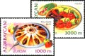 Azerbaijan 2005: 608-09 Europe CEPT, Set MNH