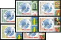 Azerbaijan 2007: 686-89 A+B, 50 Y.Europe Stamps, Overprint MNH