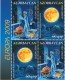 Azerbaijan 2009: 758-59D Europe CEPT, se-tenant partly perf. MNH