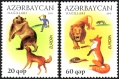 Azerbaijan 2010: 791-92A Europe CEPT, set MNH