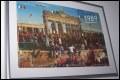 Brandenburg Gate 1989 - Phone Card Puzzle, Framed