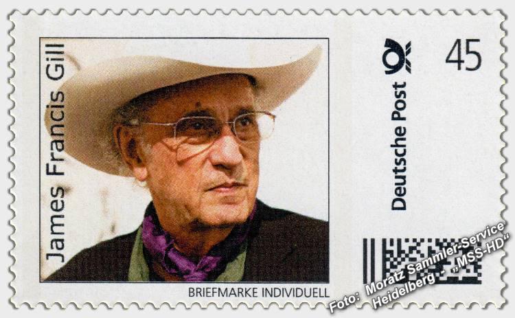 James Francis Gill - Briefmarke - postage stamp - Foto of James Francis Gill
