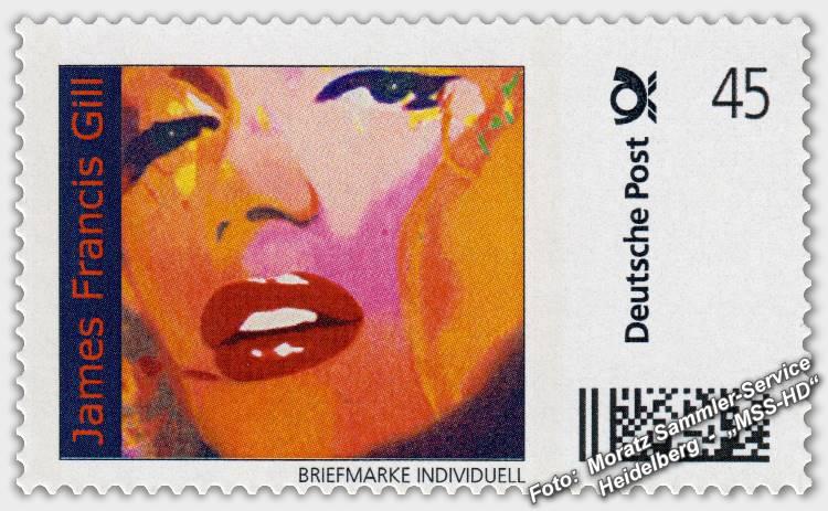 James Francis Gill - Briefmarke - postage stamp