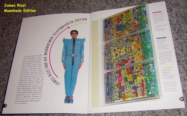 Heilbronn-Edition komplett in Mappe James Rizzi neu inkl.Porto Folder