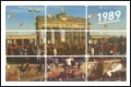 Brandenburg Gate 1989 - Phone Card Puzzle